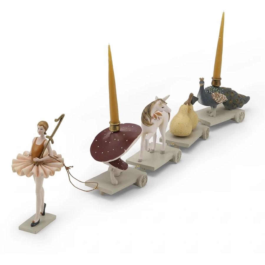 Konges Slojd - Geburtstagszug Ballerina