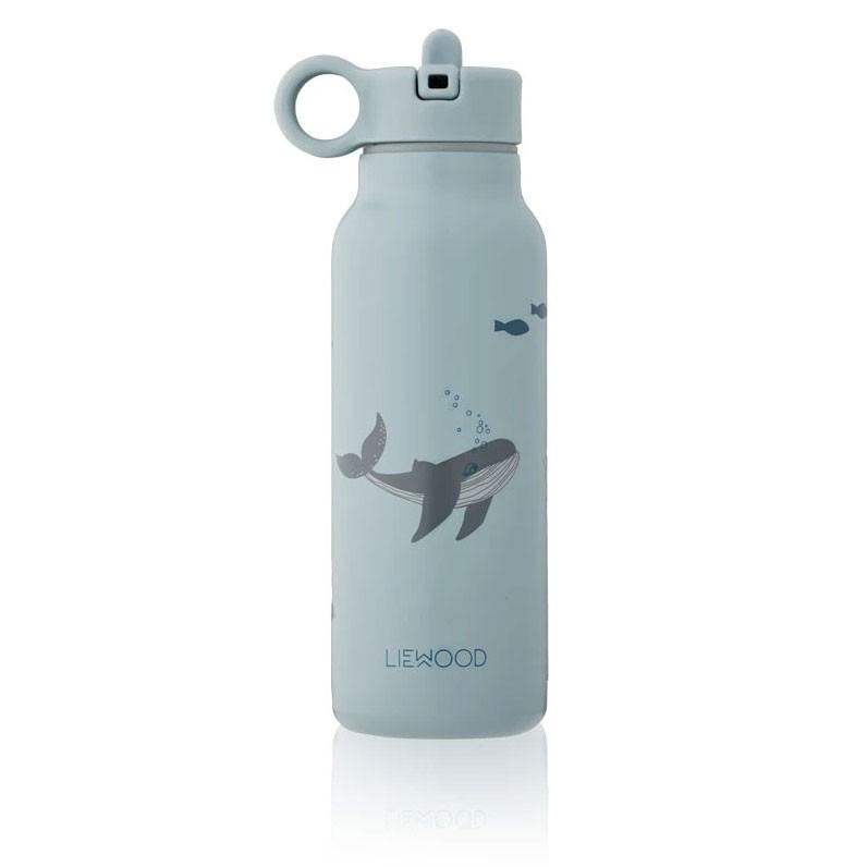 Liewood - Trinkflasche Falk Sea Creatures Blue