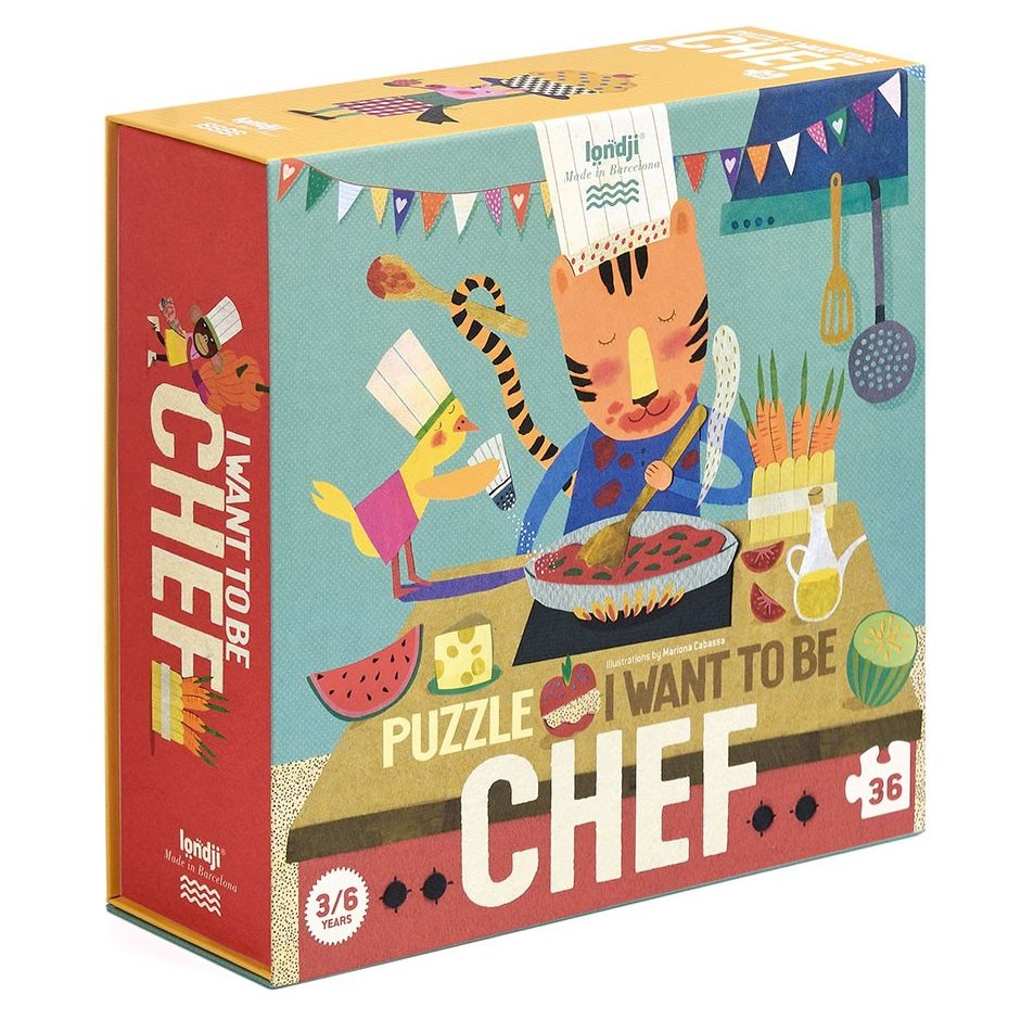 Londji - Puzzle I want to be Chef