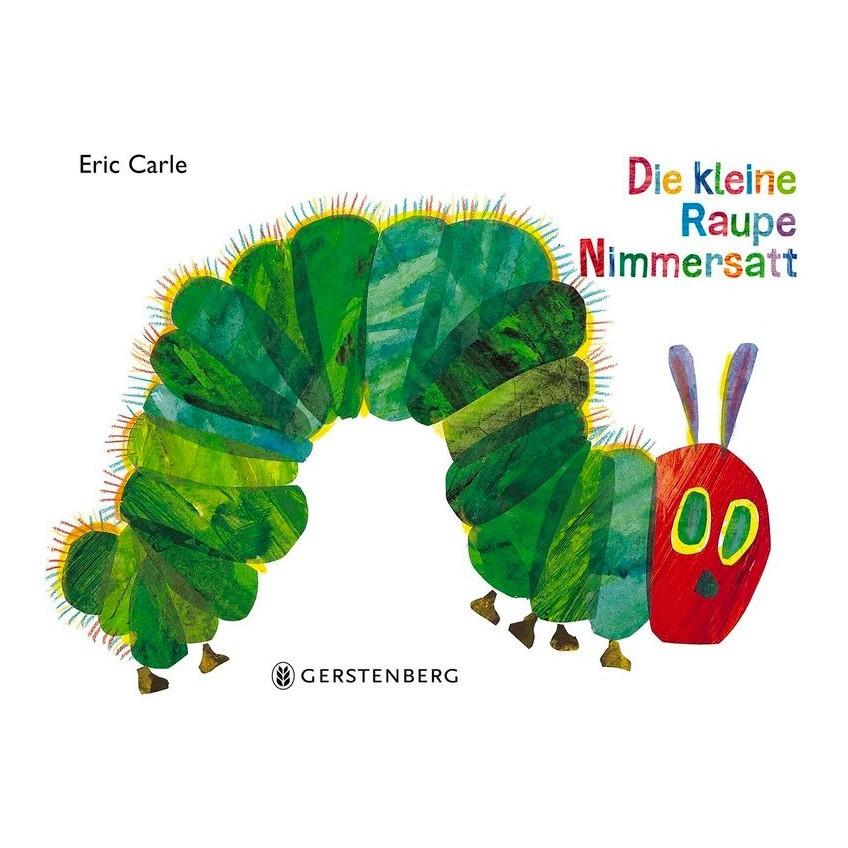 Kinderbuch - Die kleine Raupe Nimmersatt