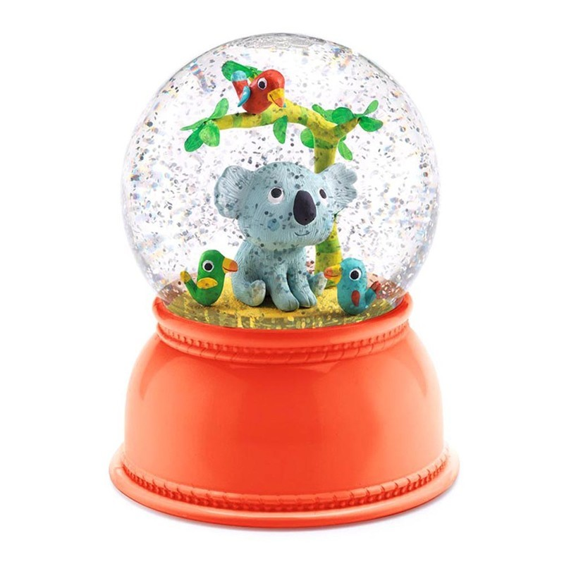 "Djeco - Nachtlicht ""Koala"" Schneekugel"