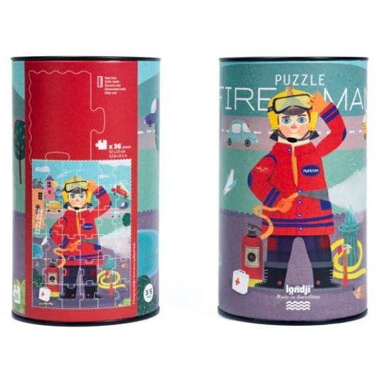 "Londji - Puzzle ""Feuerwehrmann"""