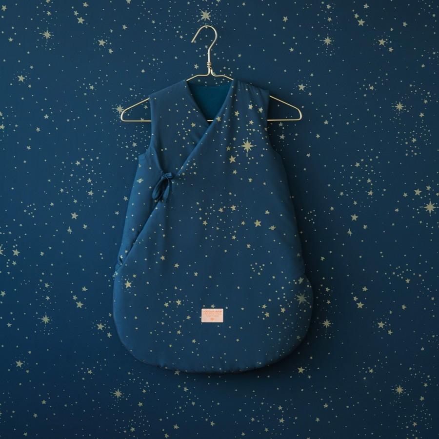 Nobodinoz - Baby Schlafsack Cloud Stella Blau