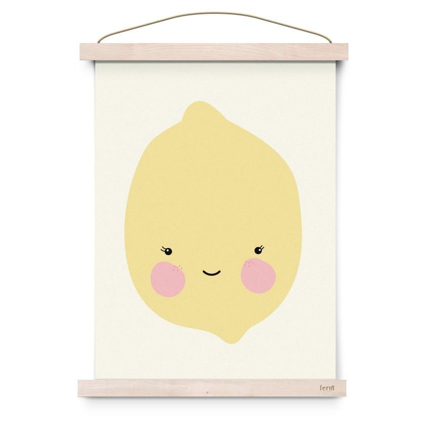 """Eef Lillemor - Poster """"Zitrone"""""""