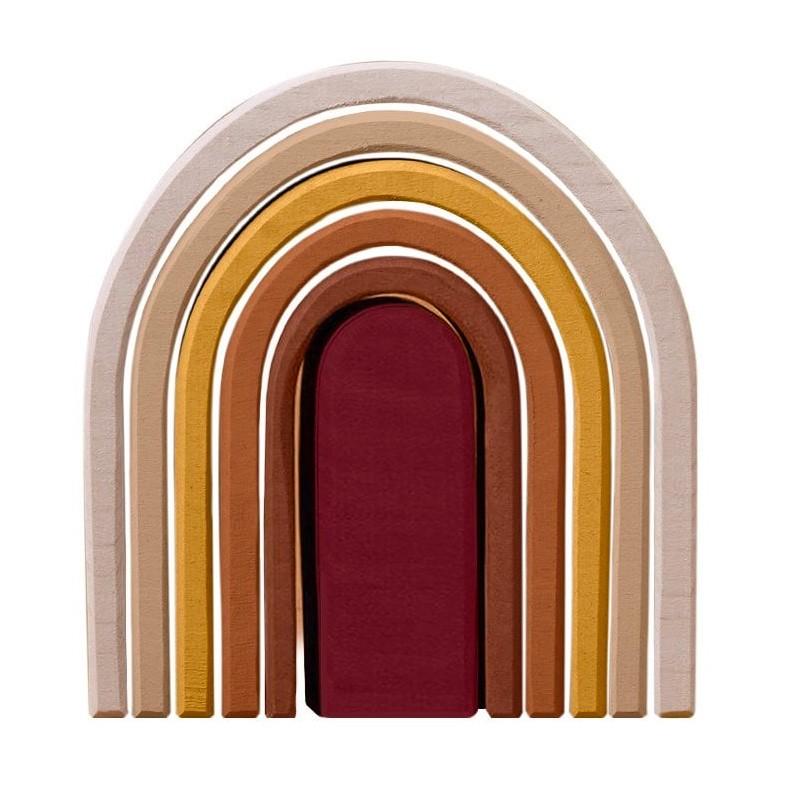 Raduga Grez - Ovaler Regenbogen aus Holz