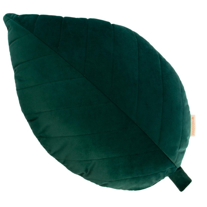 Nobodinoz - Kissen Savanna Velvet Palma Leaf