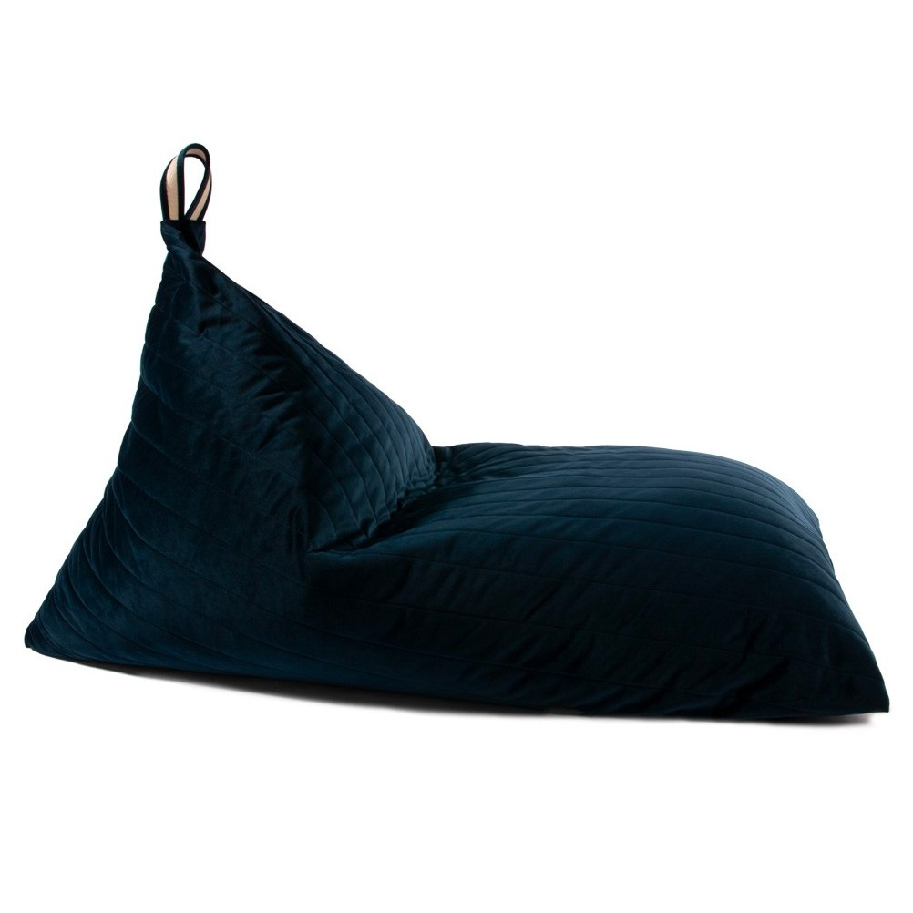 Nobodinoz - Sitzkissen Savanna Velvet Essaouira Night Blue