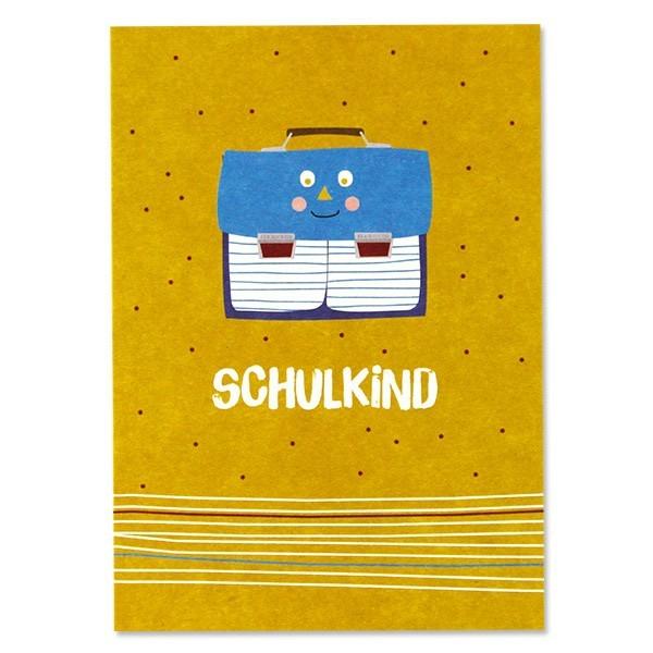 "Ava & Yves - Postkarte ""Schulkind"""