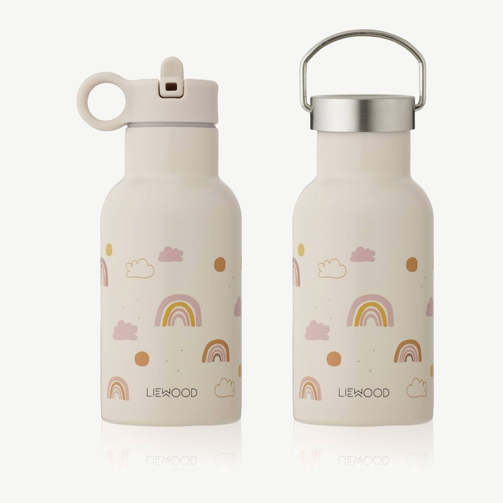 Liewood - Trinkflasche Anker Rainbow Love Mix Sandy
