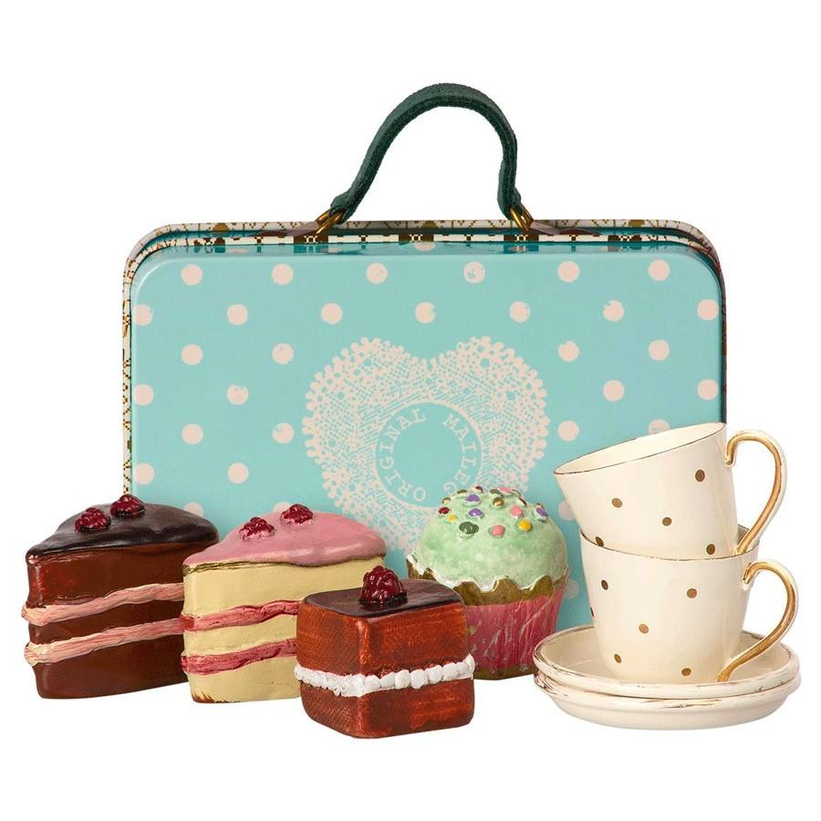 Maileg - Tee und Kuchenservice für Mäuse