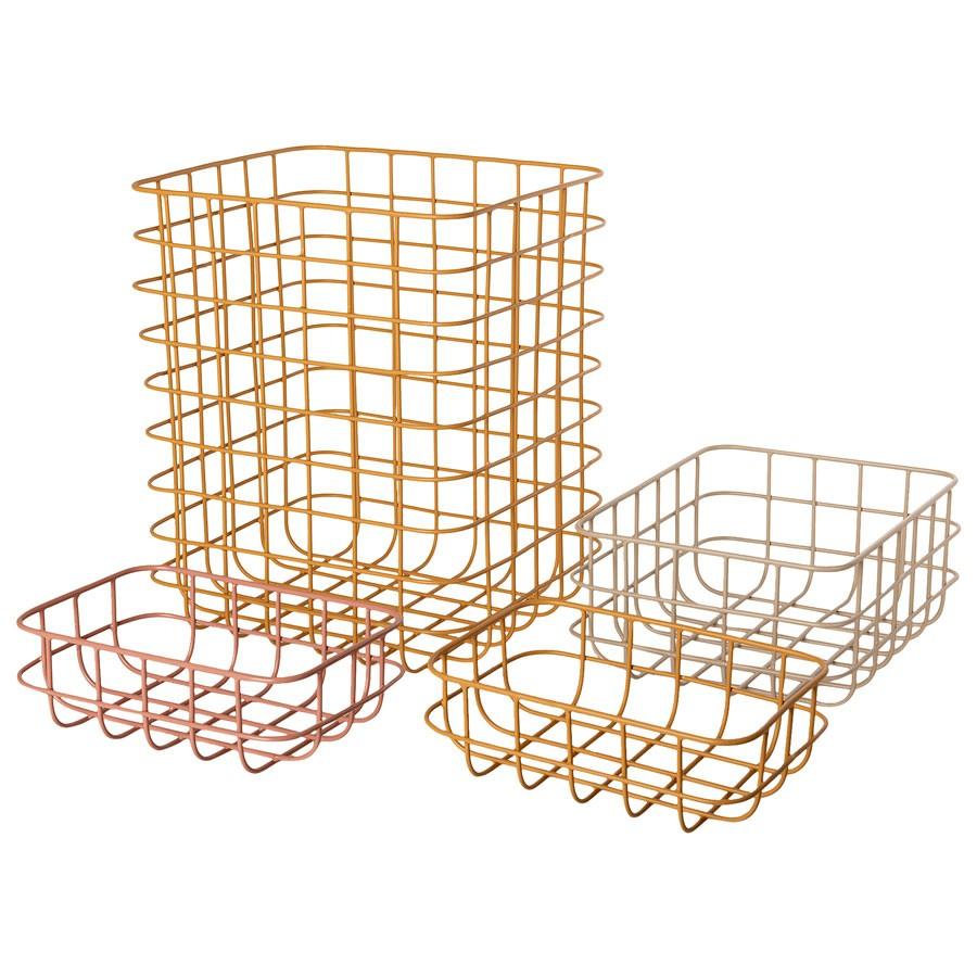 Maileg - Set 4 Körbe aus Metall No 2