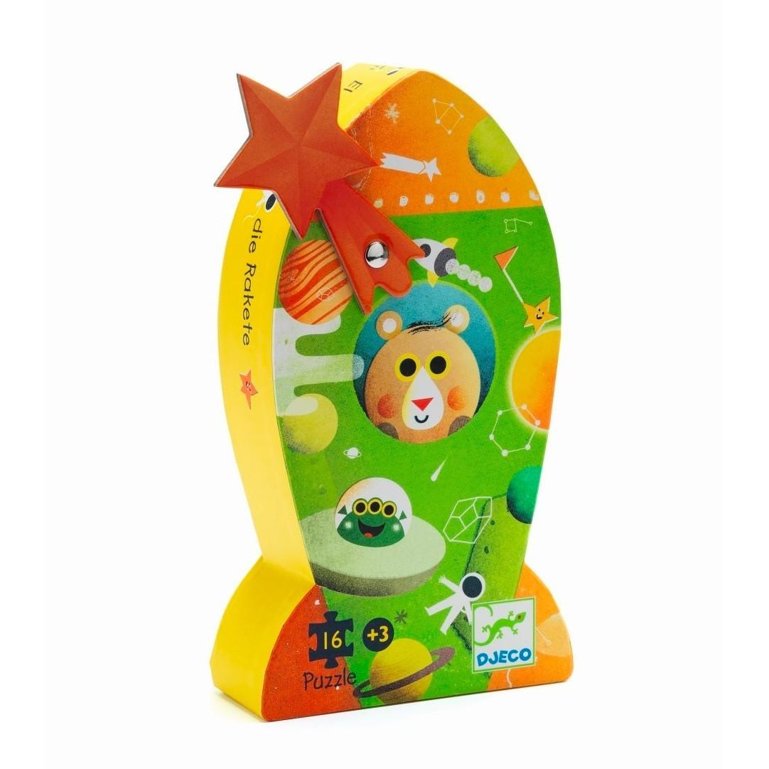 Djeco - Kinderpuzzle Rakete