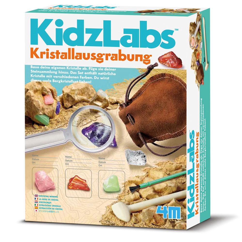 4M Kidzlab - Kristall Ausgrabung Set