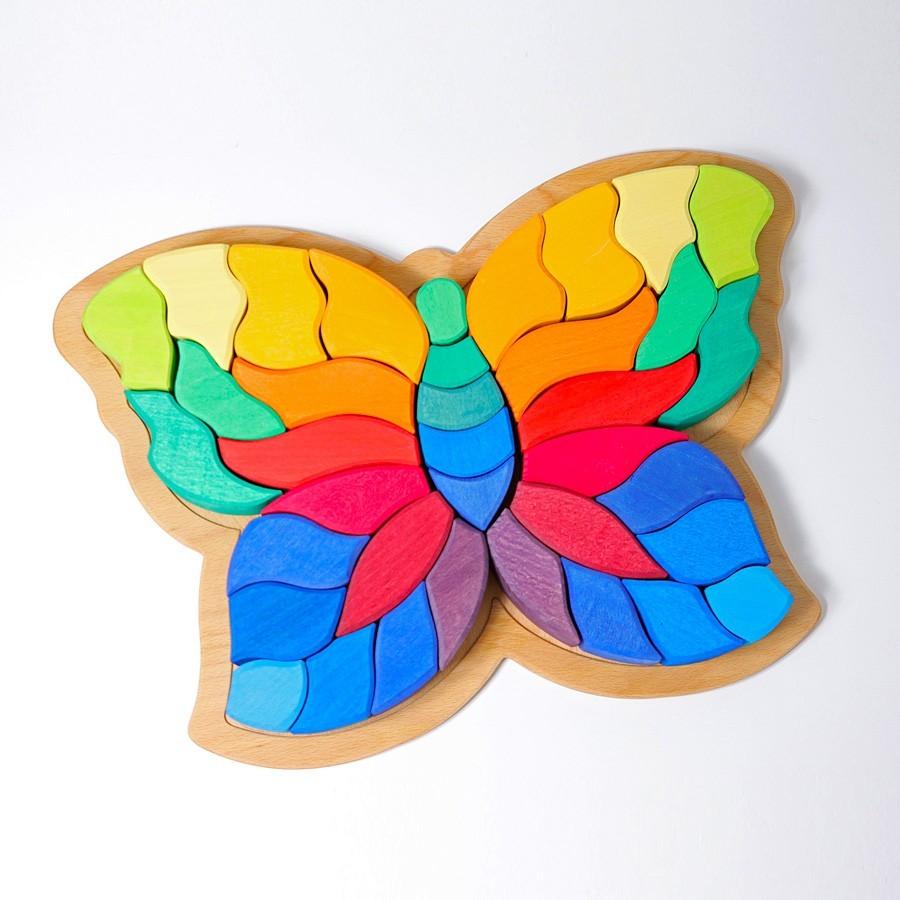 Grimm's Spielzeug - Bauspiel Schmetterling