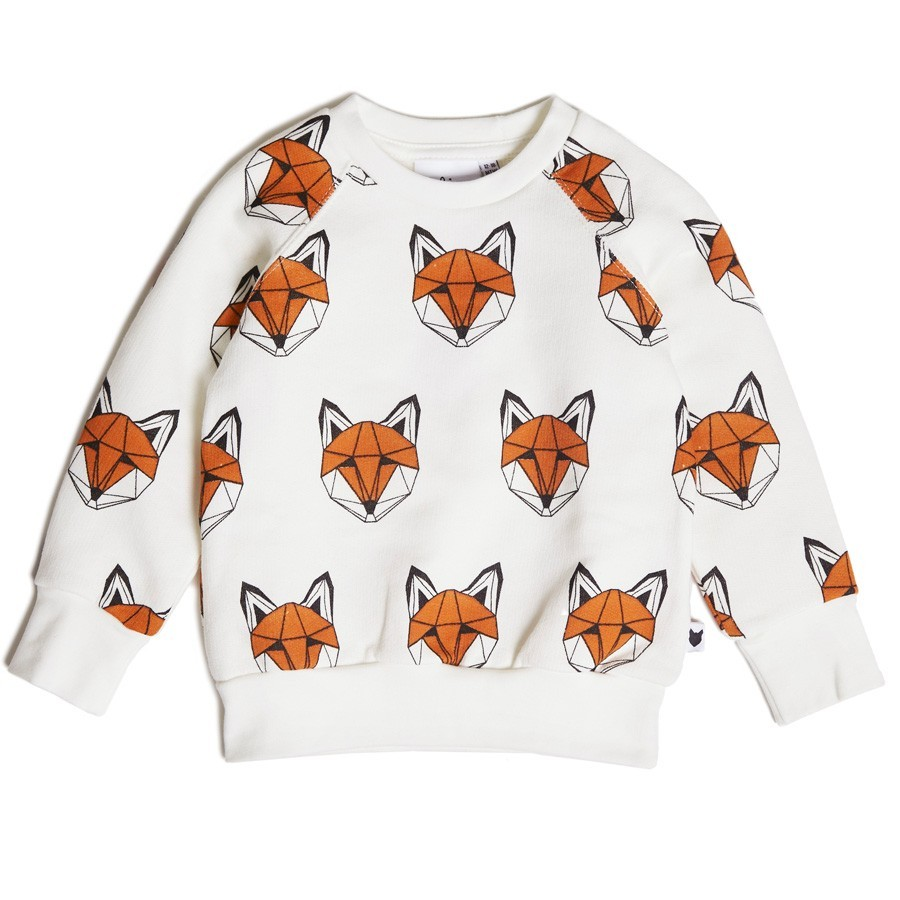 "Tobias & the Bear - Sweater ""Origami Fuchs"""