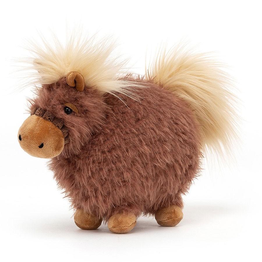 Jellycat - Kugeliges Pony Rolbie Klein 20cm