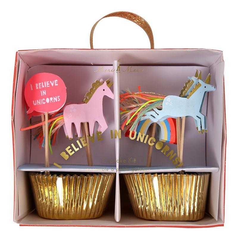 "Meri Meri - Cupcake Set ""Einhorn"""