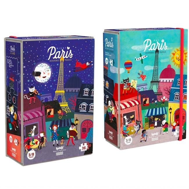 """Londji - Wendepuzzle """"Night & Day in Paris"""""""