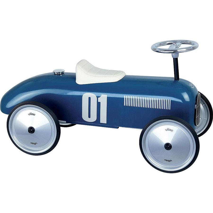 Vilac - Rutschauto Blue Vintage Car