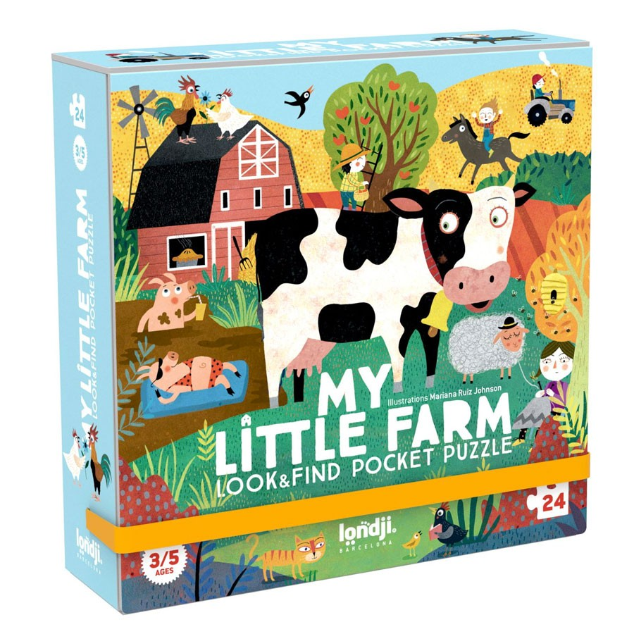 Londji - Pocket Puzzle My Little Farm