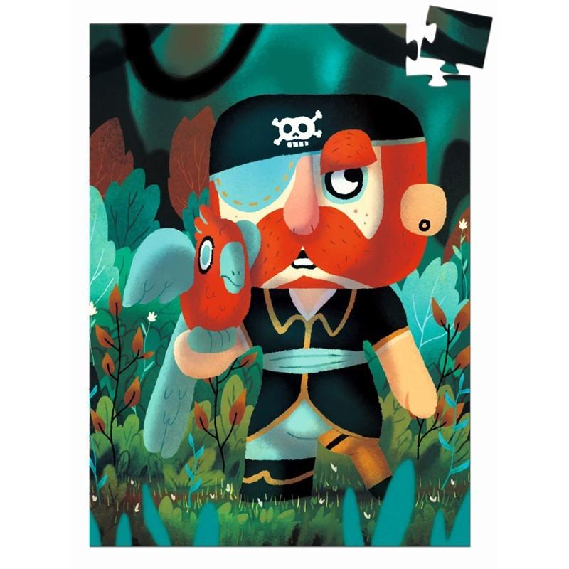"Djeco - Minipuzzle für Kids ""Pirat"""