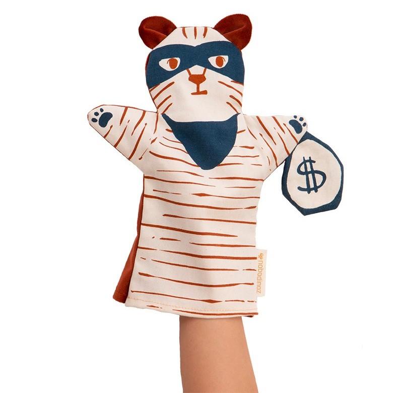 Nobodinoz - Handpuppe Tiger