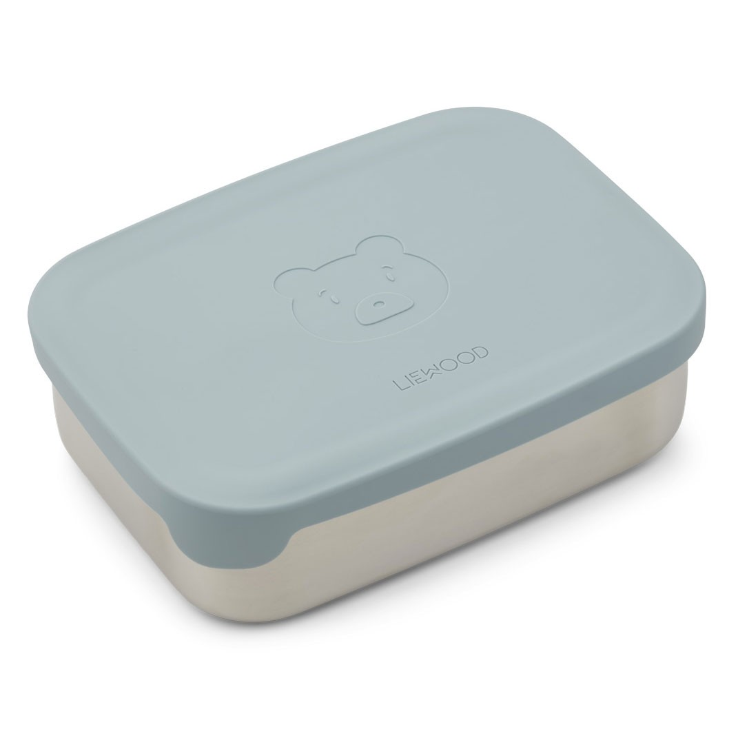 Liewood - Nina Lunch Box Mr Bear Sea Blue