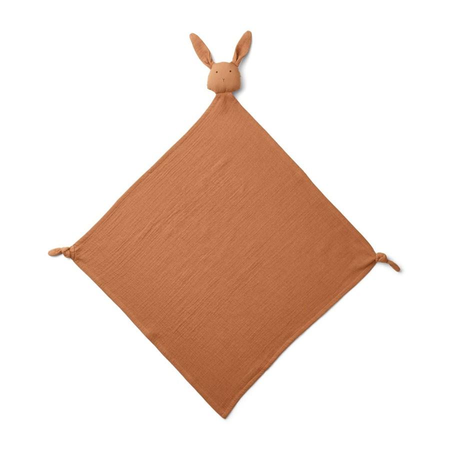 Liewood - Musselin Schmusetuch Robbie Rabbit Terracotta