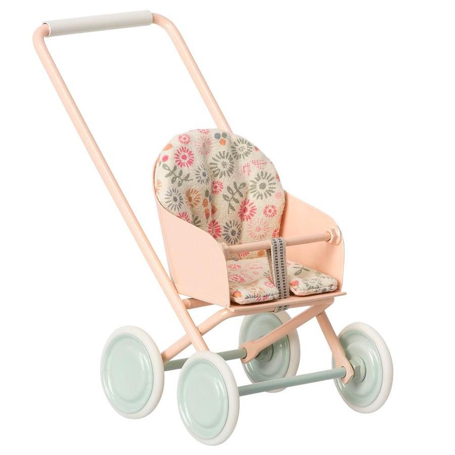 Maileg - Micro Kinderwagen für Puppenhaus