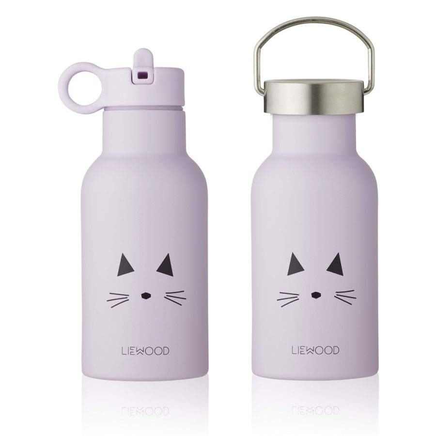 Liewood - Trinkflasche Anker Cat Lavendel