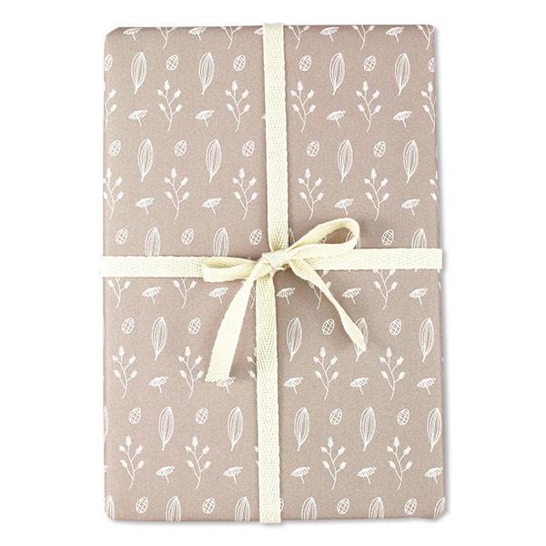 Ava & Yves - Geschenkpapier Blüten Rosé