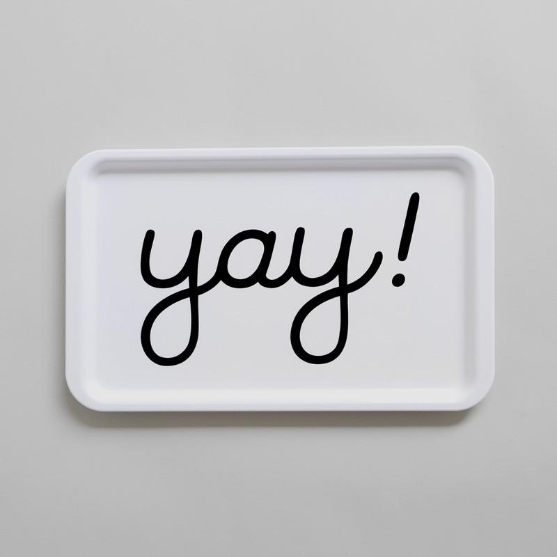 """Buddy and Bear - Tablett """"YAY"""""""