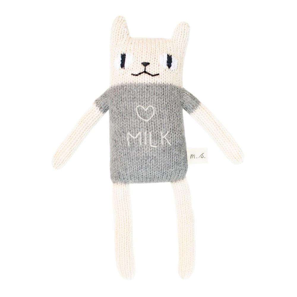 "Main Sauvage - Katze ""Milk"" Grau"