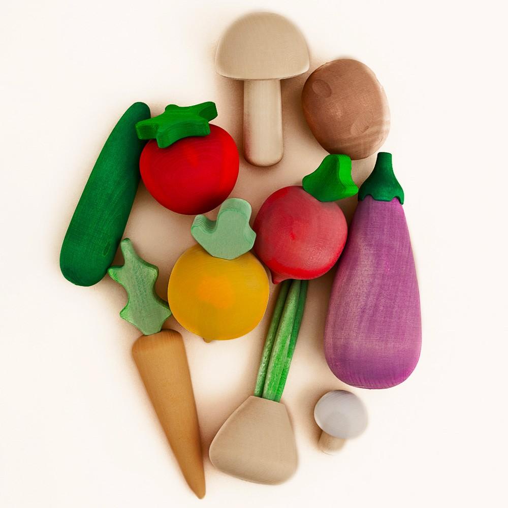 Raduga Grez - Gemüse aus Holz
