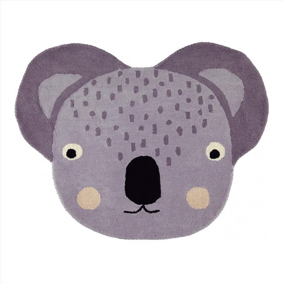 "OYOY - Teppich ""Koala"" Grau"