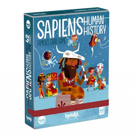 "Londji - Spiel Sapiens - Human History Cards"""