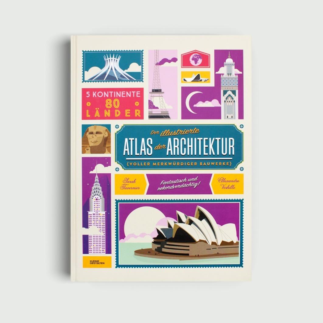 Kinderbuch - Der illustrierte Atlas der Architektur