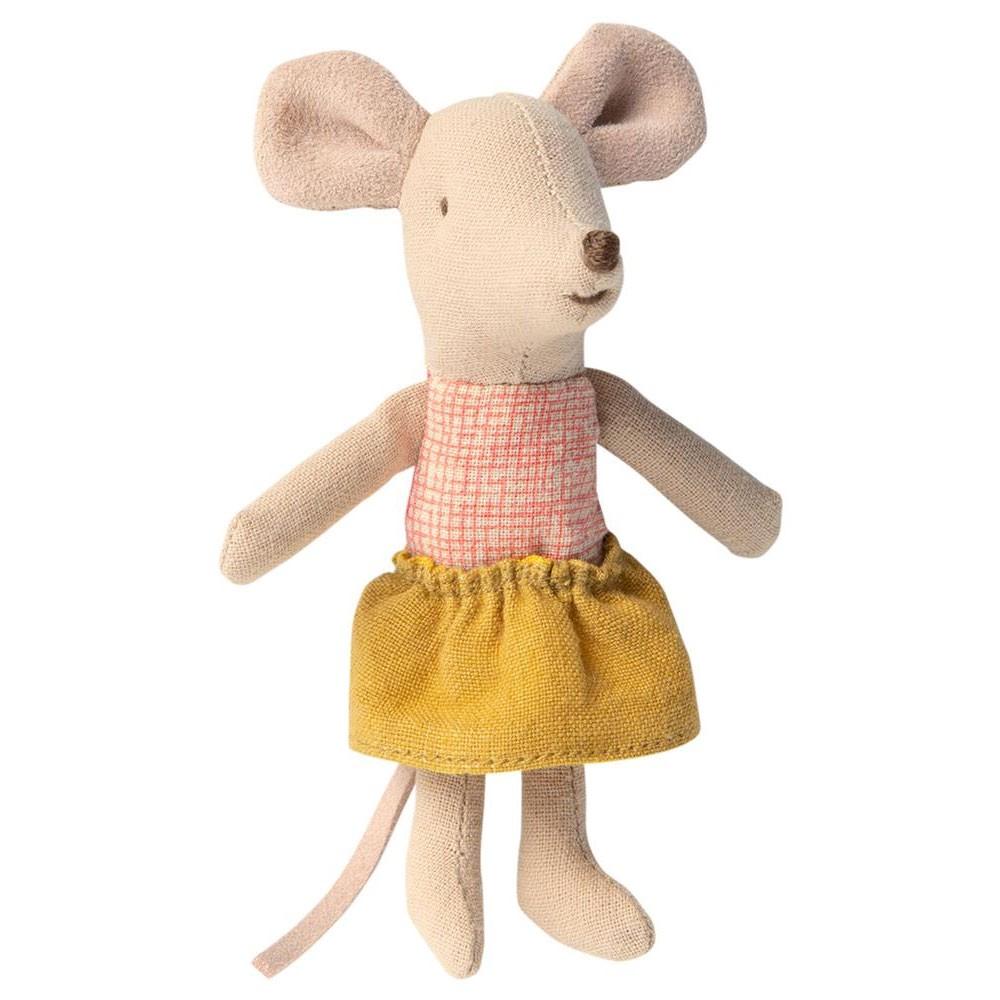 """Maileg - """"Kleine Schwester"""" Maus in der Schachtel"""