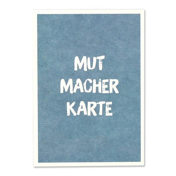"Ava & Yves - Postkarte ""Mutmacherkarte"""