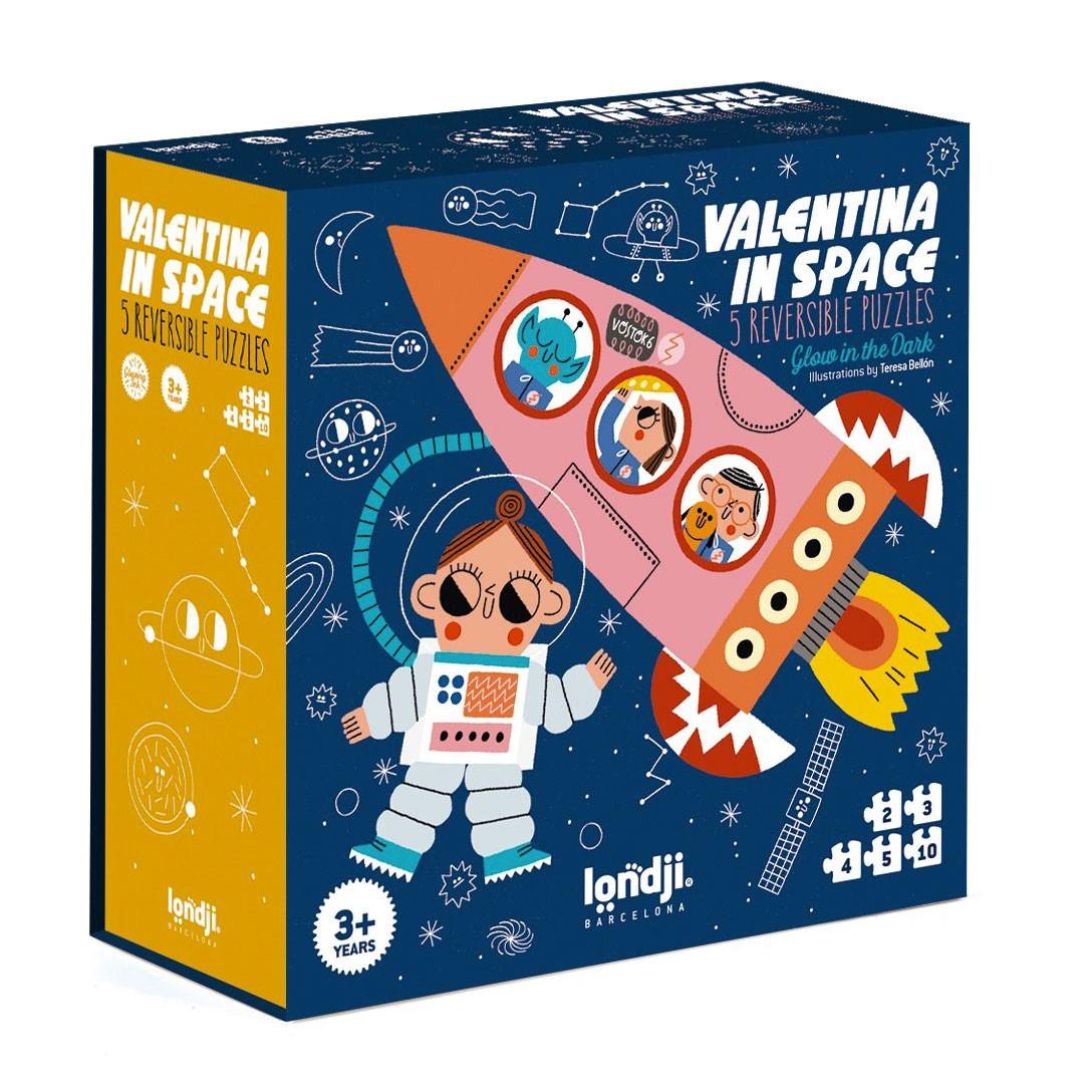 """Londji - Puzzle """"Valentina in Space"""""""
