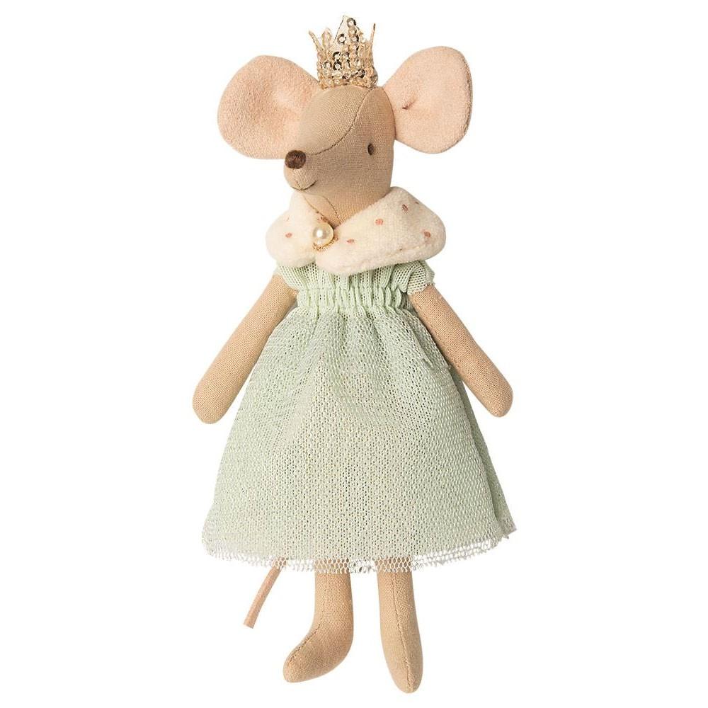 """Maileg - Maus """"Königin"""" mit Krönchen"""