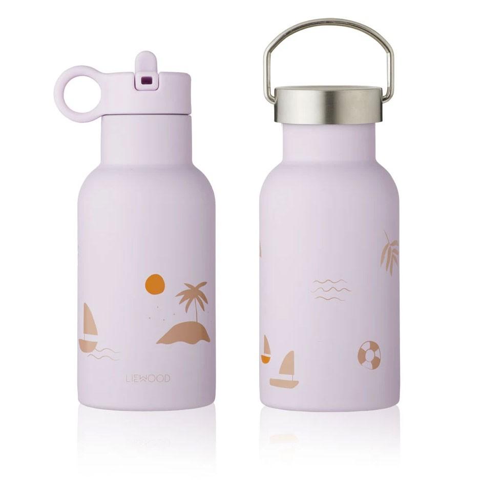Liewood - Trinkflasche Anker Seaside Light Lavender