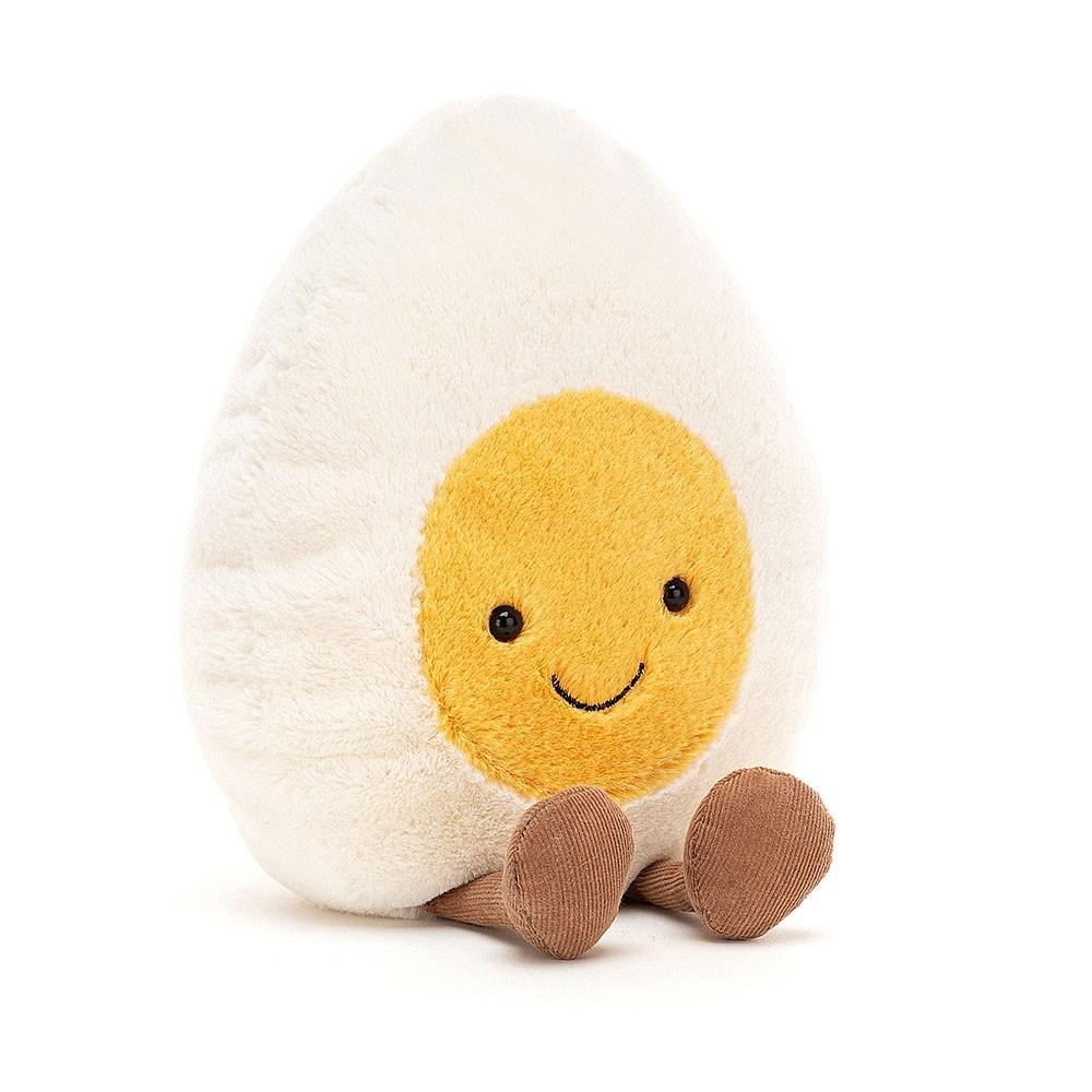 Jellycat - Großes gekochtes Ei