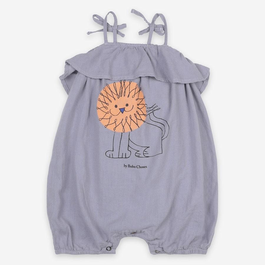Bobo Choses - Sommerlicher Babystrampler Löwe