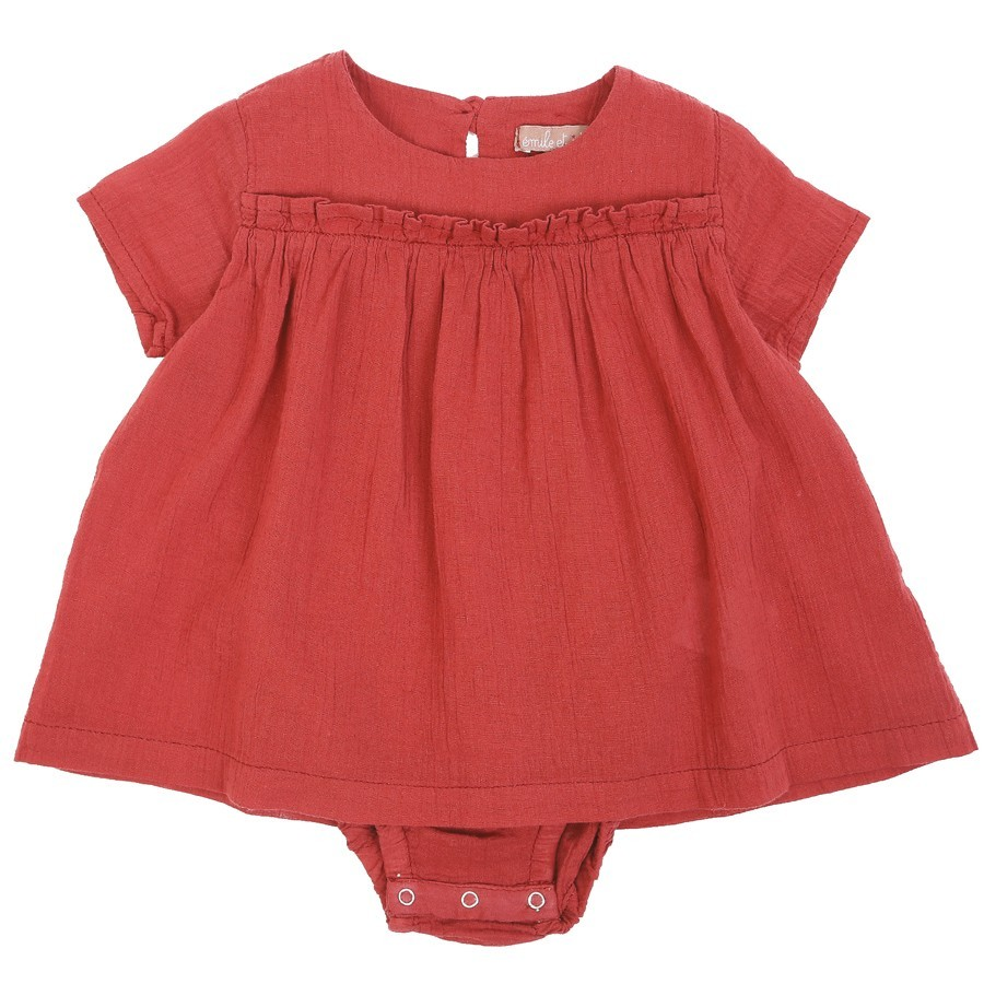 Emile et Ida - Babystrampler mit Kleid