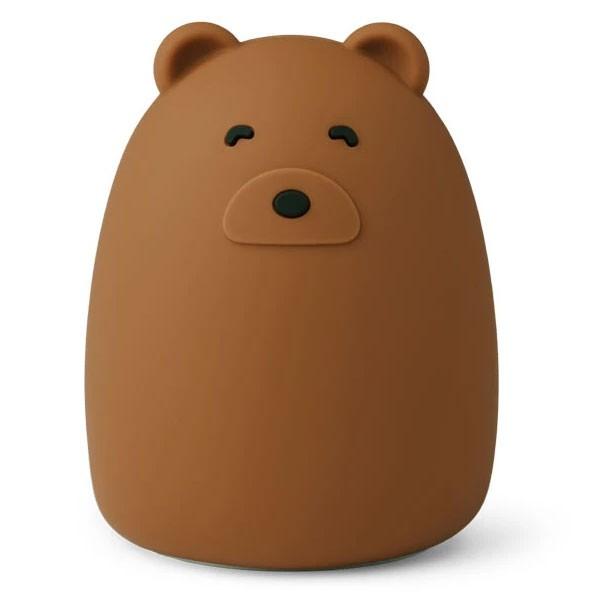 Liewood - Nachtlicht Winston Mr bear golden caramel