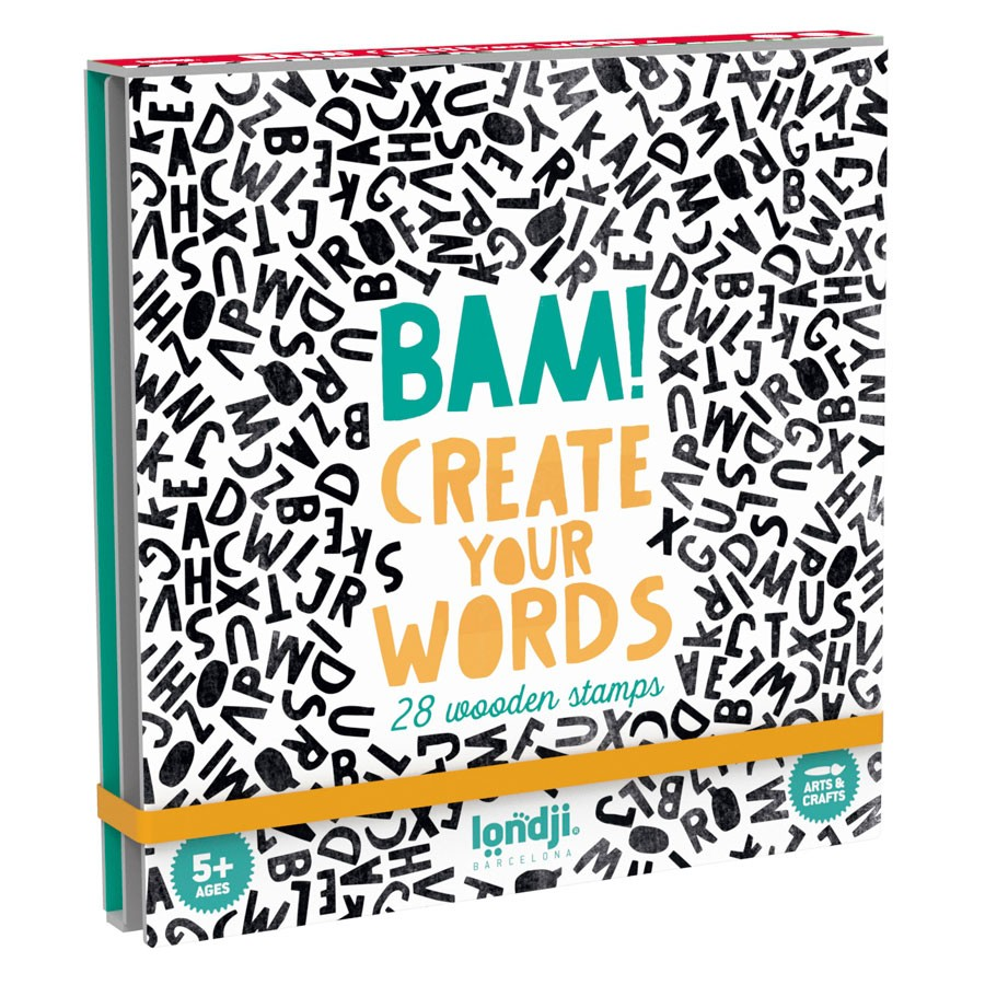 "Londji - Stempelspiel ""Bam! Create your Words"""