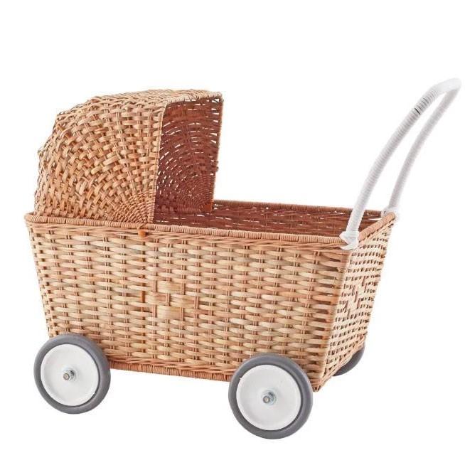 Olli Ella - Puppenkinderwagen Natur