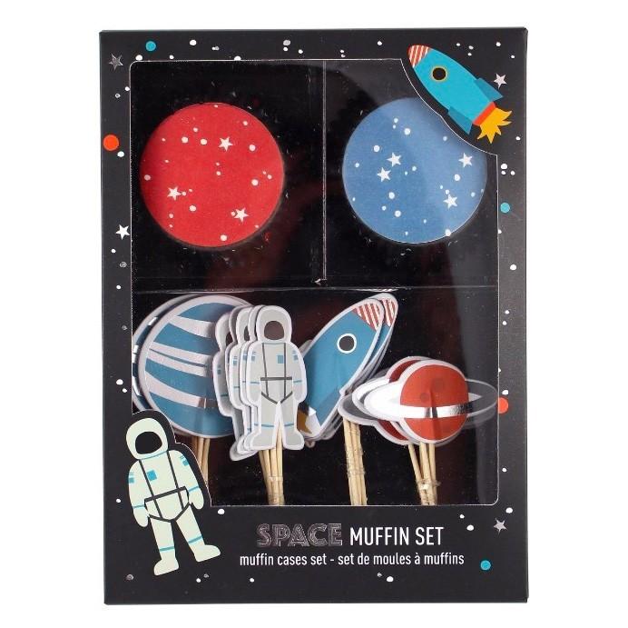"Ava & Yves - Cupcake Set ""Astronaut"""