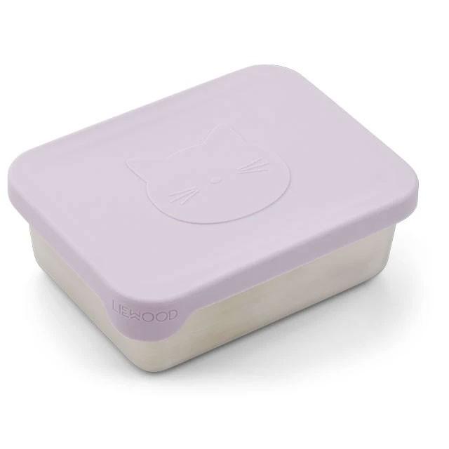 Liewood - Snackbox Ako Cat Light Lavender
